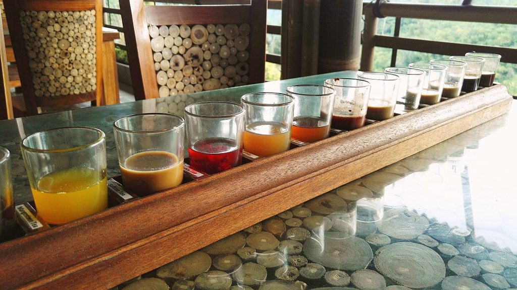 Coffee and hot drinks at Bali Pulina Agro Tourism