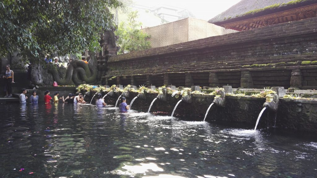 The holy place of Tirta Empul